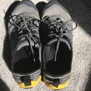 Merrell Shoes - Castle Rock Merrell gray and yellow sneakers 7 Men